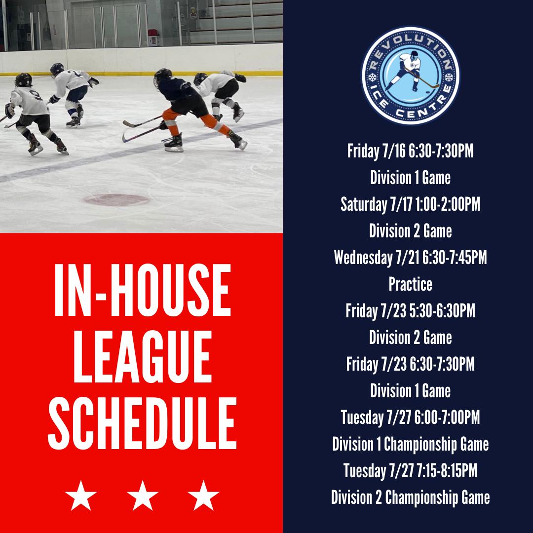 House League Schedule